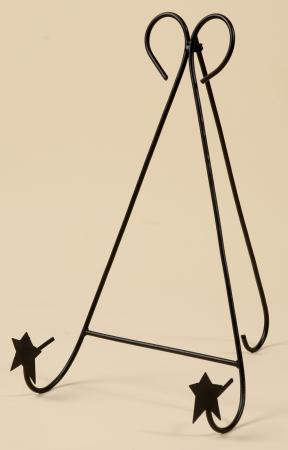 Black Iron - HUGE Folk Star Foldable Bowl/Plate Holder