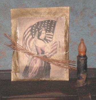 Colonial Pantry Simmering Potpourri Satchel - Patriotism