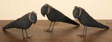 Cranky Crows - Set of 3