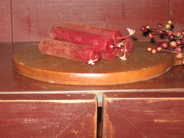 Tavern Pub Candles, Cranberry Plum - Stubs