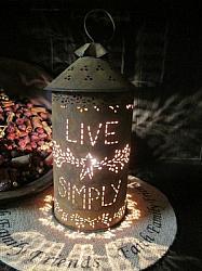 Tartwarmer - *Live Simply* - Mustard