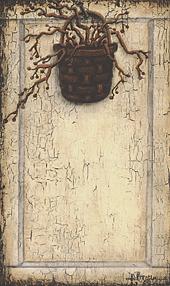 "Notepad, Mini  - ""Basket on Panel"""