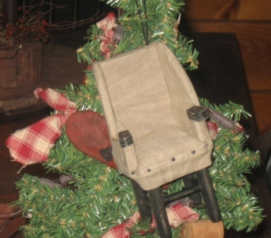 Ornament - Colonial Chair