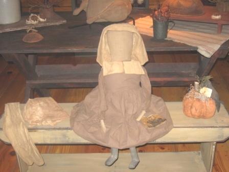 """Pilgrim Doll"""