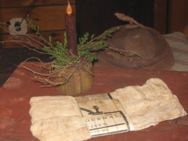 Prairie Cloth Bundle-prairie cloth, cheese cloth, early prim decor, aged prairie cloth,