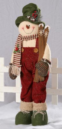 Snowman  Folk - Standing w/Skis