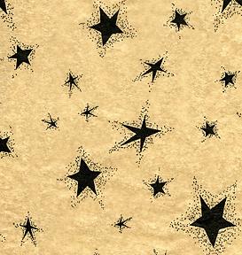 Black Star Tissue Paper