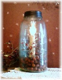 Half Gallon Mason Jar Light