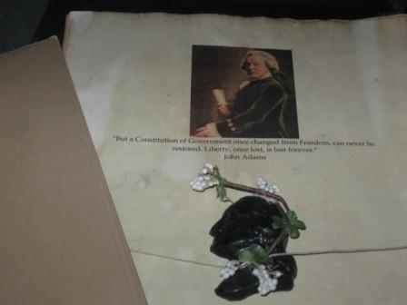Colonial Stationery - John Adams